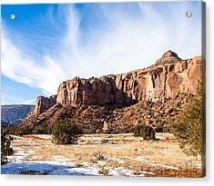 Escalante Canyon Acrylic Print