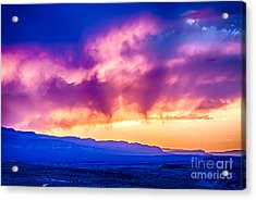Escalante Sunset 3 Acrylic Print by Scotts Scapes
