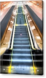 Escalator To Heaven Acrylic Print