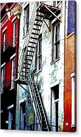 Escape Acrylic Print by Kathy Bassett