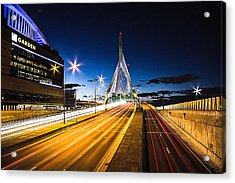 Escape To Boston Acrylic Print