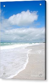 Escape To Paradise Acrylic Print by Margie Amberge