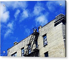 Escape To The Clouds Acrylic Print by Sarah Loft