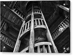 Acrylic Print featuring the photograph Escher's Hideaway by John  Bartosik