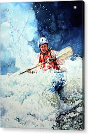 Eskimo Rolls Acrylic Print by Hanne Lore Koehler