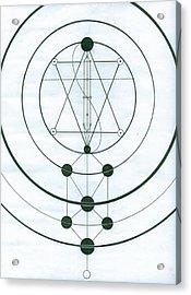 Esoteric Symbology  Acrylic Print