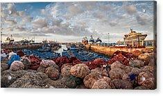 Essaouira Harbour Acrylic Print by Michael Avory