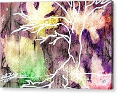 Essence Of Autumn Acrylic Print by Allison Tilberg