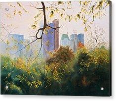 Essex House Acrylic Print by Daniel Dayley