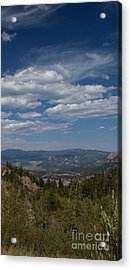 Estes Park In The Valley Acrylic Print by Kay Pickens