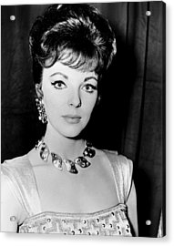 Esther And The King, Joan Collins Acrylic Print by Everett