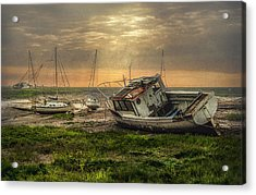 Estuary Evening Acrylic Print