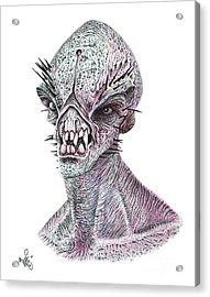 E.t. Acrylic Print by Wave