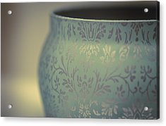 Etched In My Heart Acrylic Print