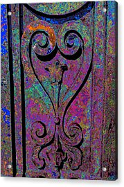 Etched Love Acrylic Print