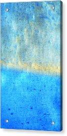 Eternal Blue - Blue Abstract Art By Sharon Cummings Acrylic Print