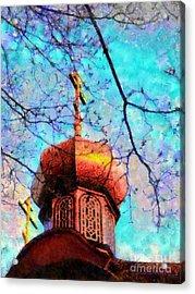 Eternal Faith Spring Acrylic Print