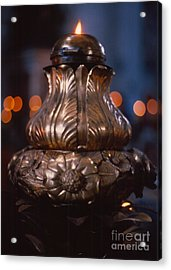 Eternal Flame Of Saint Peter Acrylic Print by Anna Lisa Yoder