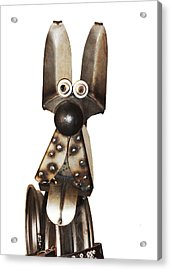 Eternal Guard Dog 1a  Acrylic Print by Bruce Iorio