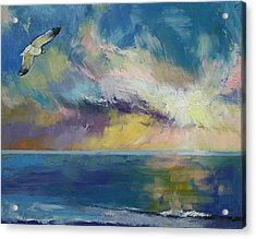 Eternal Light Acrylic Print by Michael Creese