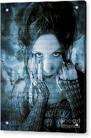 Acrylic Print featuring the photograph Eternal Outsider by Heather King