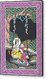 Eternal Romance Acrylic Print by Prasida Yerra