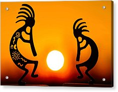 Eternity's Sunrise Acrylic Print