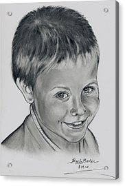 Ethan Acrylic Print by Barb Baker