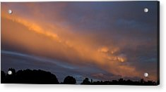 Ethereal Clouds Acrylic Print by Greg Reed