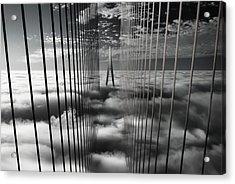 Ethereal Land Mark Acrylic Print