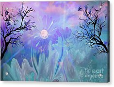 Ethereal Love Acrylic Print by Sherri's Of Palm Springs