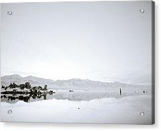 Ethereal Mono Lake Acrylic Print by Shaun Higson