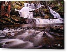Ethereal Flow Garwin Falls Milford Nh Acrylic Print