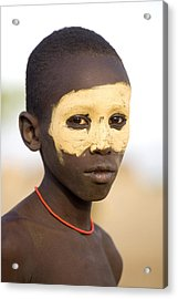 Ethiopia Boy Acrylic Print