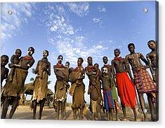 Ethiopia Groups Acrylic Print