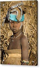 Ethiopia Tribe Acrylic Print