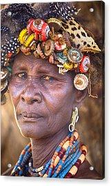 Ethiopia Women Acrylic Print