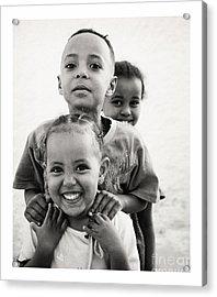 Ethiopian Children Acrylic Print