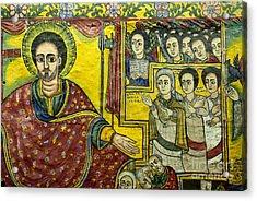 Ethiopian Church Paintings Acrylic Print