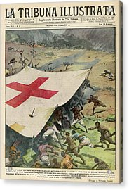 Ethiopians Conceal Men And  Munitions Acrylic Print by Mary Evans Picture Library