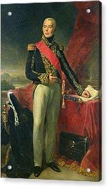 Etienne-jacques-joseph-alexandre Macdonald 1765-1840 Duc De Tarente And Marshal Of France, 1837 Oil Acrylic Print