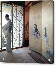 Etsuko Price At The Front Door Acrylic Print