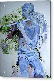 Etude Acrylic Print by Sandy McIntire