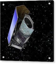 Euclid Space Probe Acrylic Print by C Carreau/european Space Agency