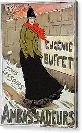 Eugenie Buffet Acrylic Print by Charlie Ross