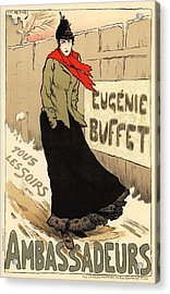Eugenie Buffet Tous Les Soirs Acrylic Print by Gianfranco Weiss