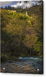 Acrylic Print featuring the photograph Eume River Galicia Spain by Pablo Avanzini