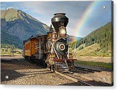 Eureka Rainbow Acrylic Print