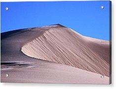 Eureka Valley Sand Dunes Acrylic Print