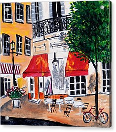 Euro Cafe Acrylic Print